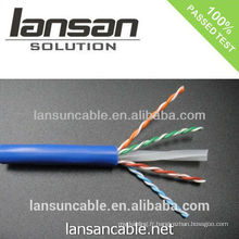 Certificat network cat6 lan cable avec une excellente performance